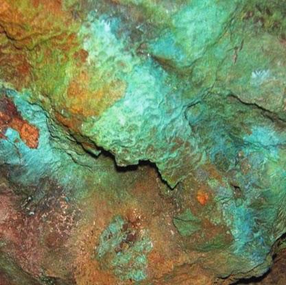 Arqueocer mica cer mica cobre y bronce del cobre metal for Oxidos para ceramica