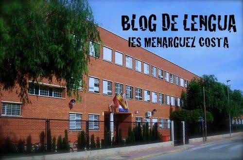 El Blog de Lengua y Literatura - IES Menarguez Costa