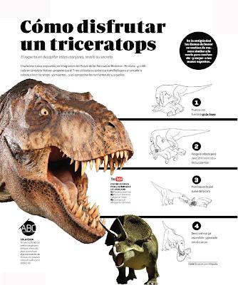 Cómo disfrutar un triceratops