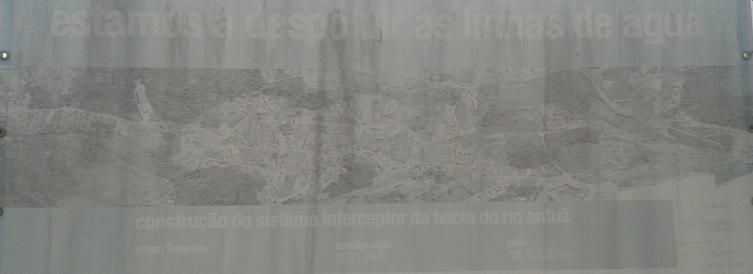 Construção do sistema interceptor da bacia do Rio Antuã