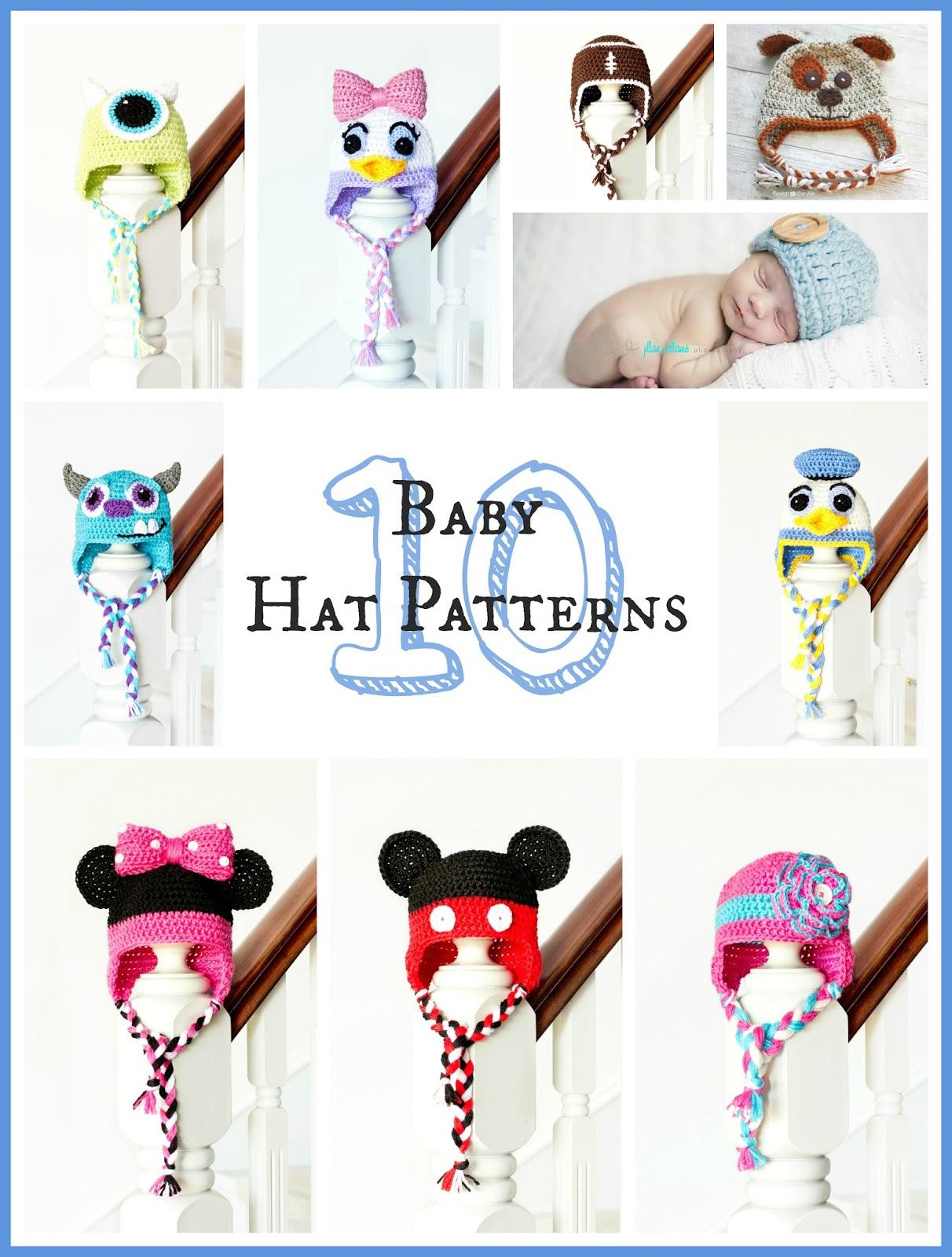 http://1.bp.blogspot.com/-5E8dpxwbIm4/UxV0SHbB5vI/AAAAAAAAHiI/PDZIcx9bI-s/s1600/10+Free+Adorable+Baby+Hat+Crochet+Patterns.jpg