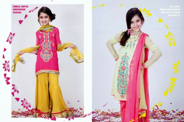 Nishat Linen - Kids Eid Collection 2014
