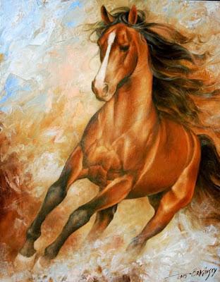 oleos-de-caballos