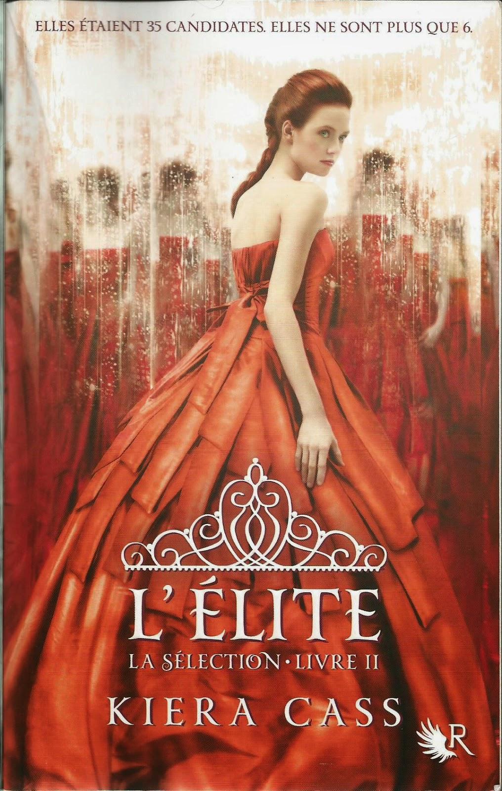 L'Elite (la Selection 2) Kiera Cass - Couverture