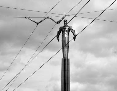 Mosca - monumento a Gagarin