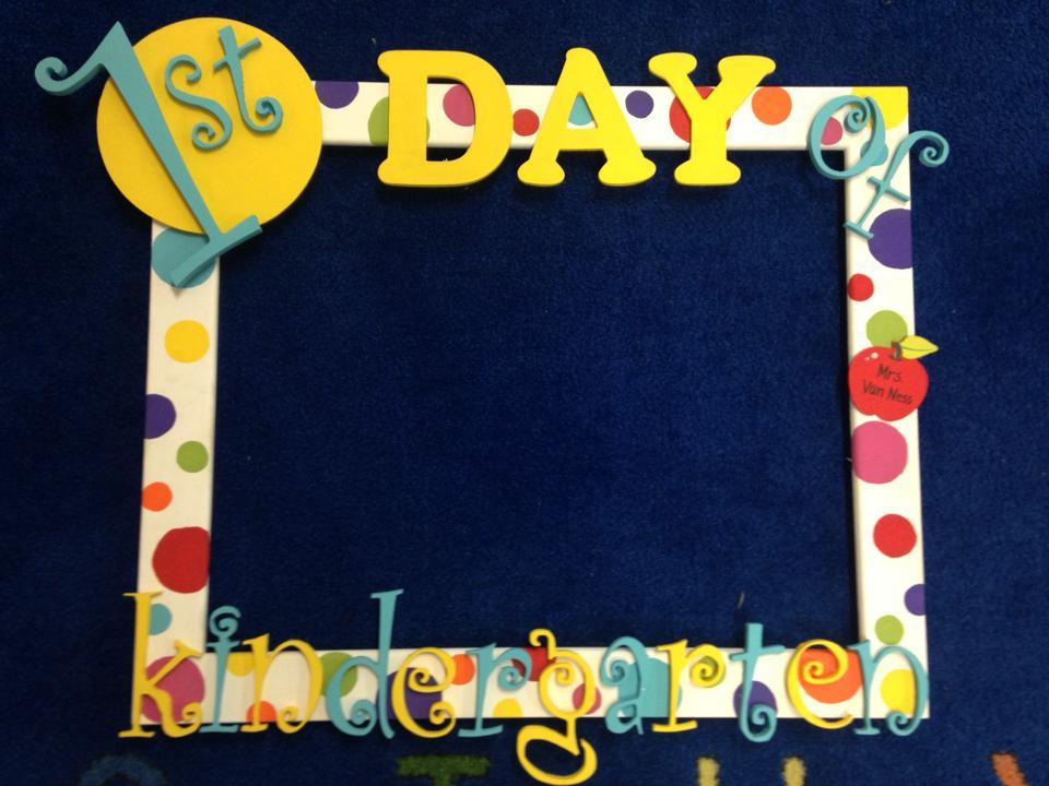 The Kindergarten Press: Our First Week