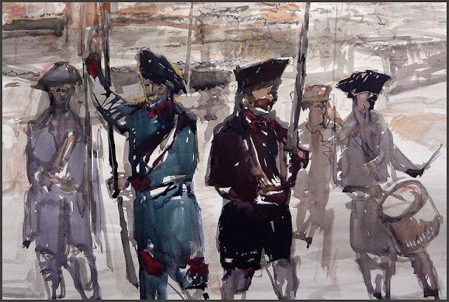1714-CORONELA-CATALUNYA-SOLDATS-PINTURA-ERNEST DESCALS