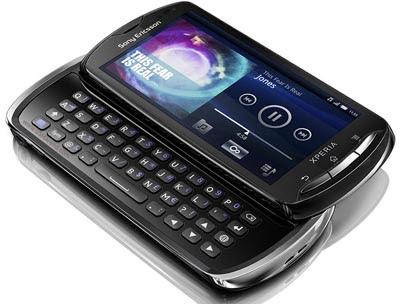 Sony Ericsson Xperia Pro - Harga dan Spesifikasi