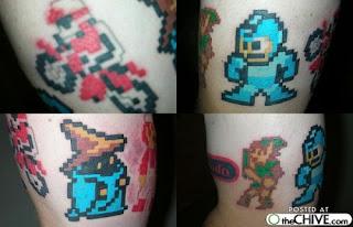 fotos de tatuagens de jogos
