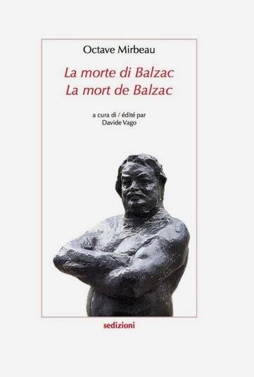"Traduction italienne de ""La Mort de Balzac"", Sedizioni, 2014"