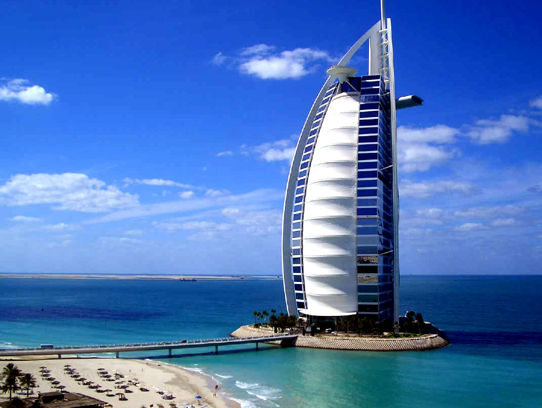 Hotels in dubai fantastic view luxury places for Nicest hotel in the world dubai