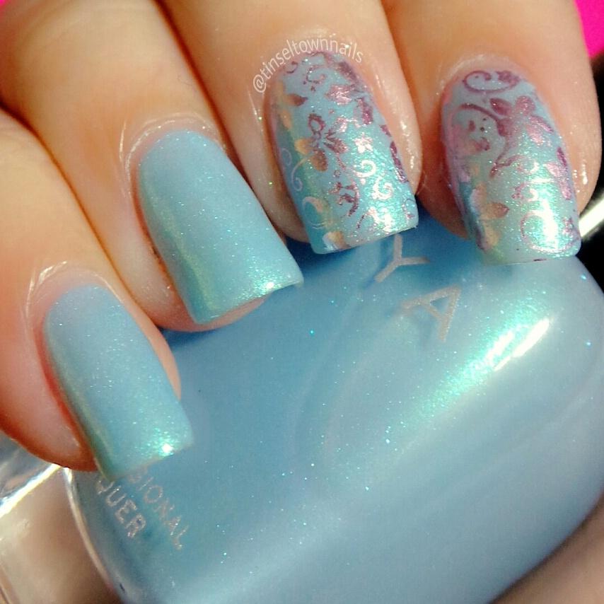 Metallic Turquoise Shimmer