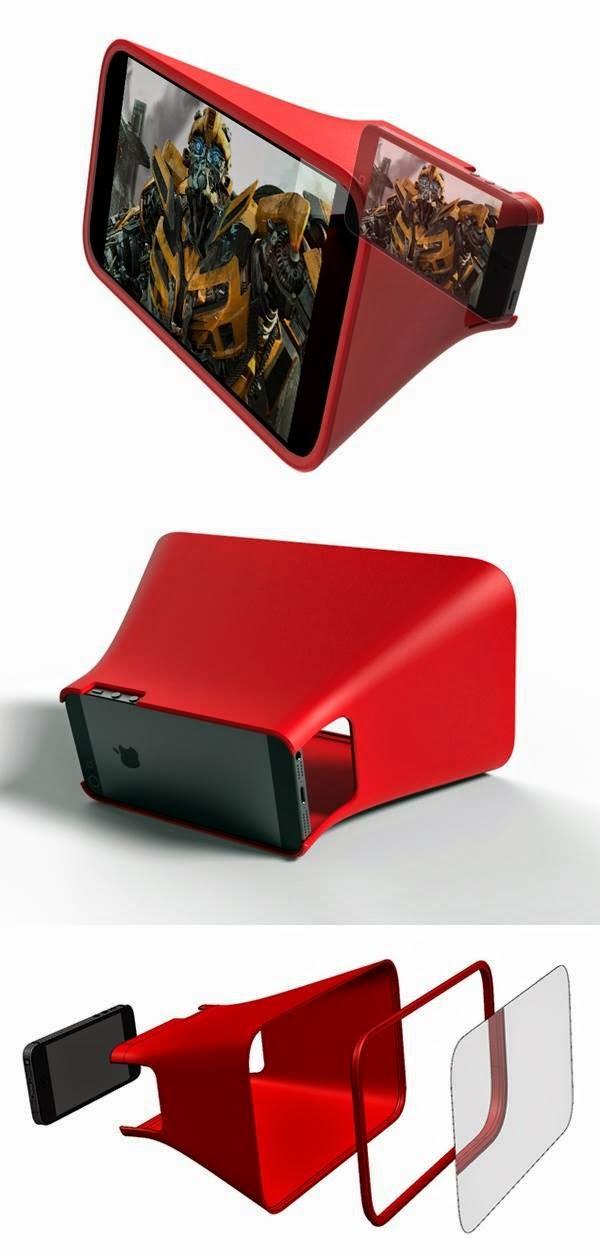 iphone ekran büyüterek film izlemek daha zevkli