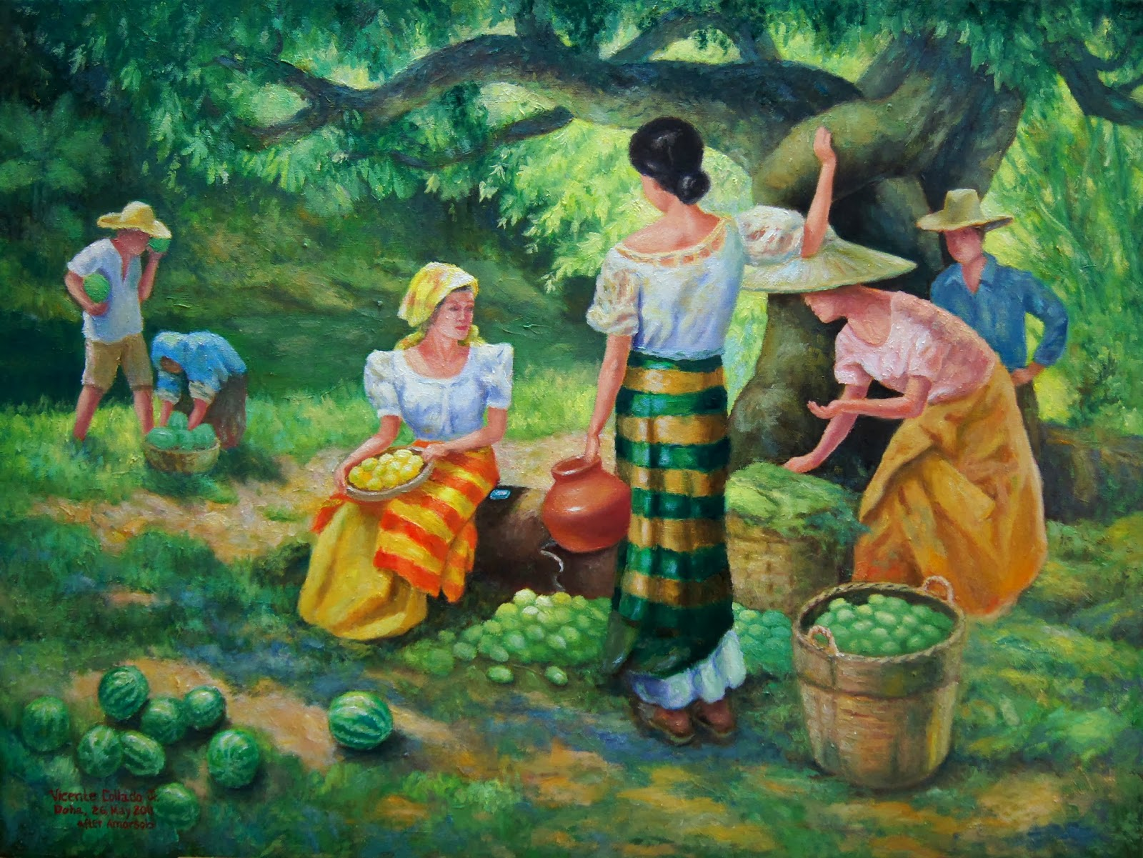 five famous filipino painters doc Top 10 philippine artists that have greatly influenced the philippine culture and society  filipino works of art to become famous inside and outside of .