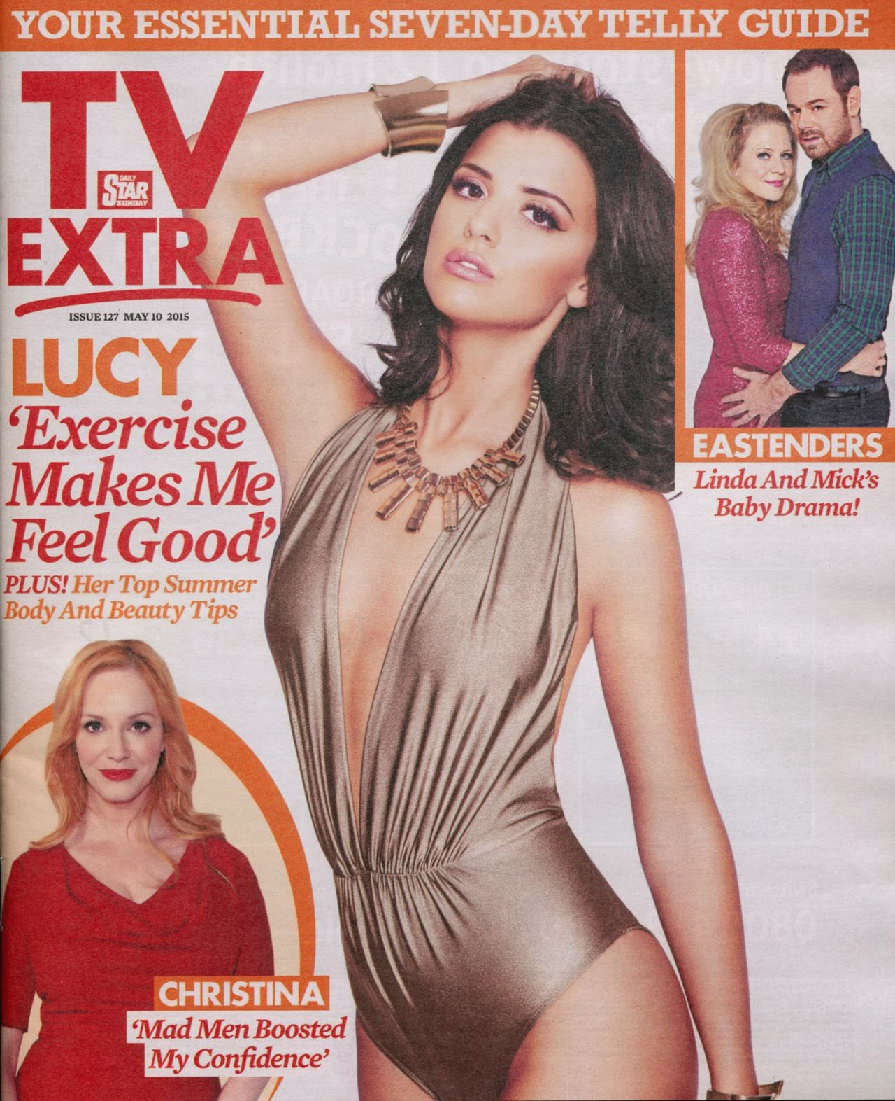 Model @ Lucy Mecklenburgh – TV Extra Magazine, May 2015
