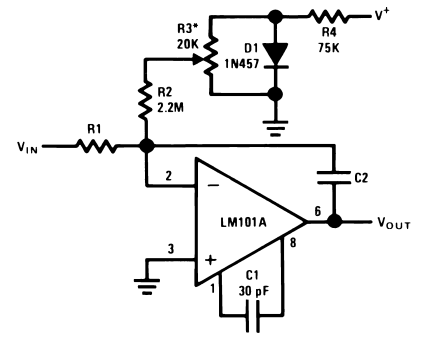 Integrator with Bias Current Compensation