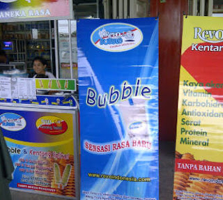 Franchise Bubble Drink dan Kentang Sosis Spiral