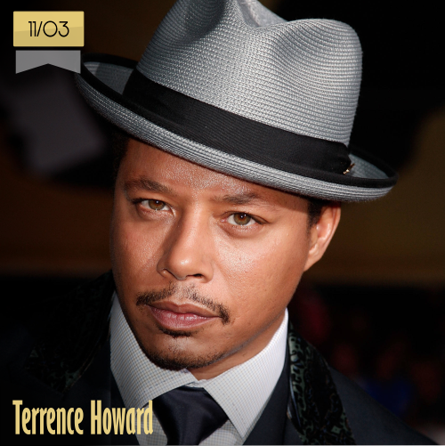 11 de marzo | Terrence Howard - @Real_Terrence_H | Info + vídeos