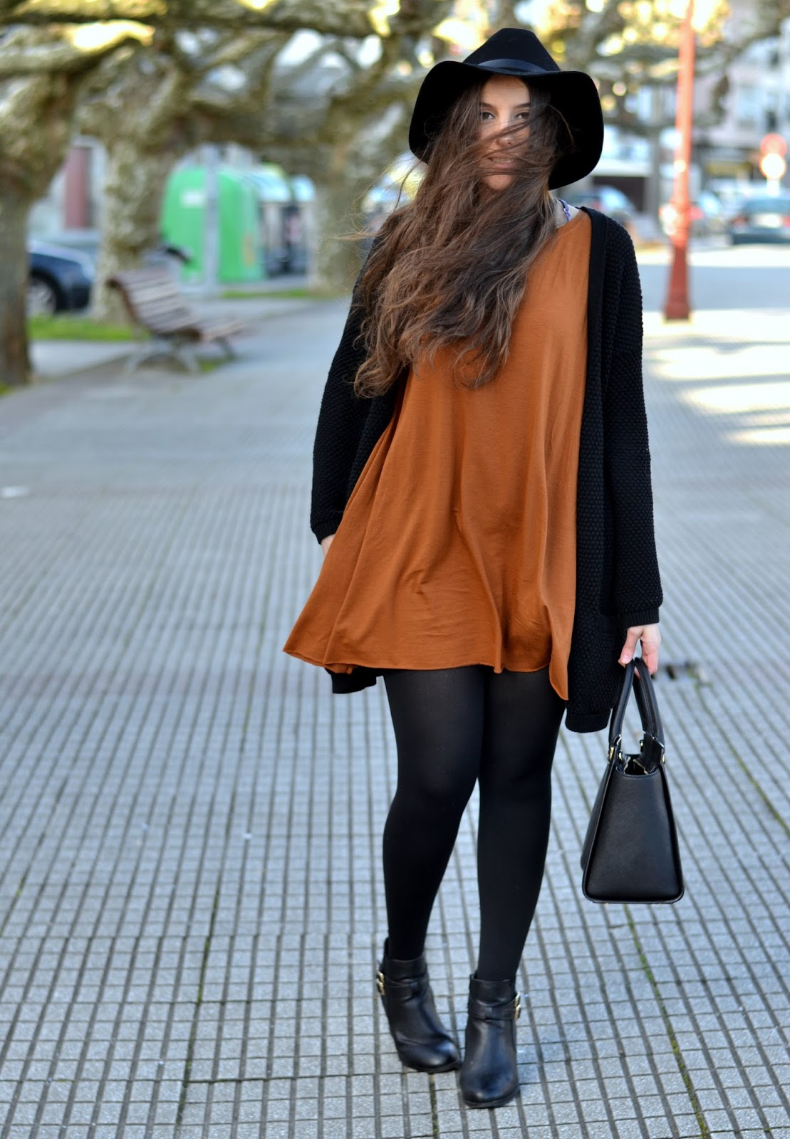 shirt like dress bershka