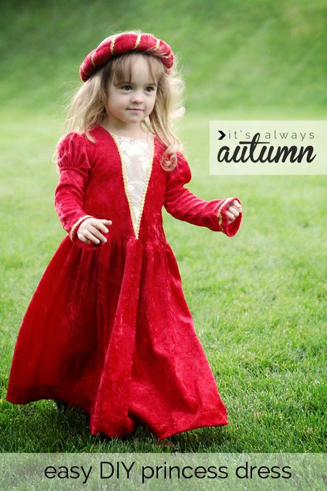 medieval princess dress tutorial