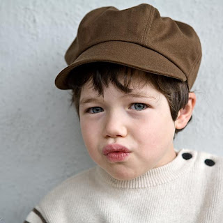 organic newsboy cap kids