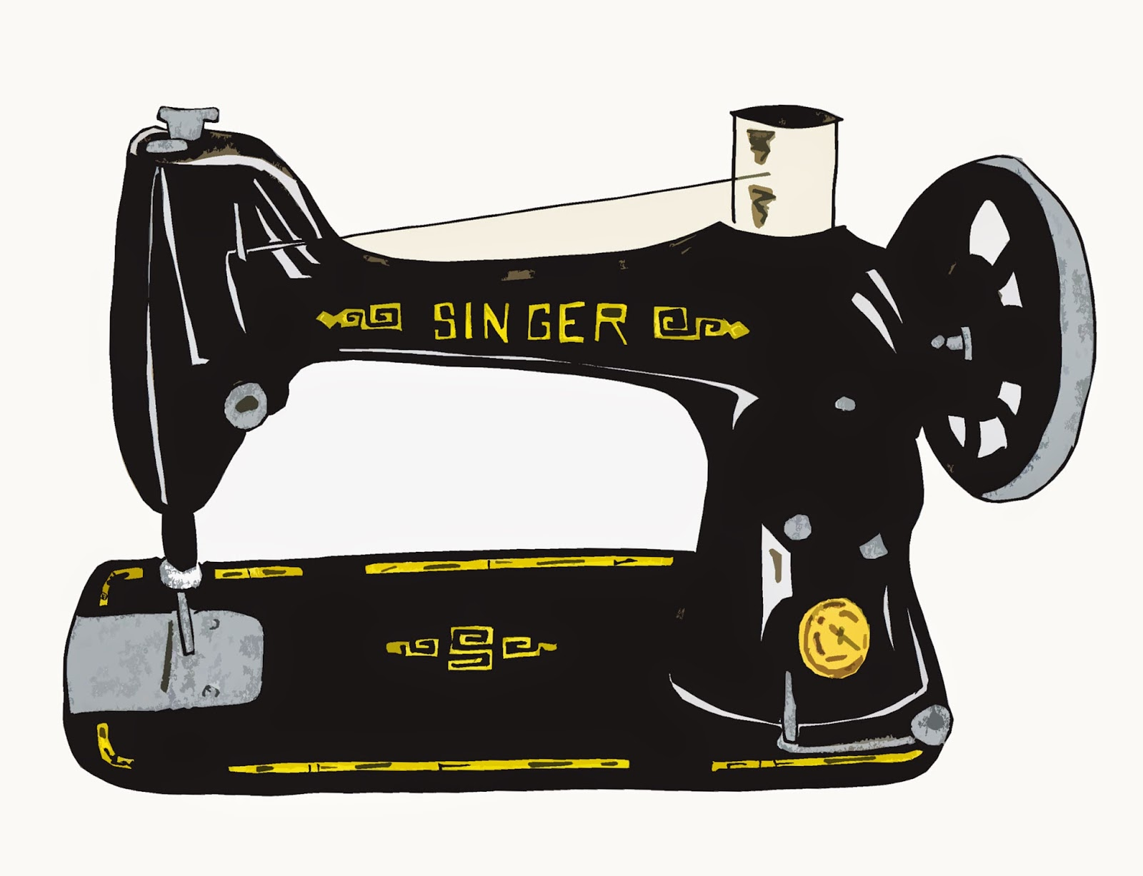 who created the sewing machine