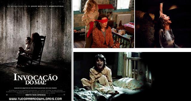 Top 3 Filmes:  Invocação do Mal