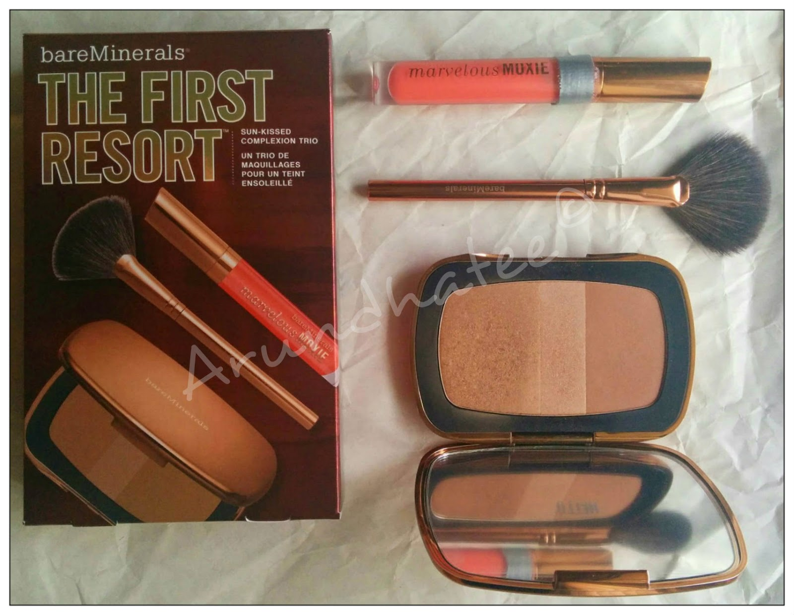 Discovering Me Bareminerals The First Resort Bronzing Kit