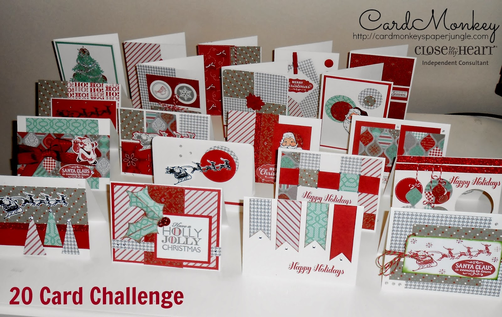CardMonkey\'s Paper Jungle: The 20 Card Challenge