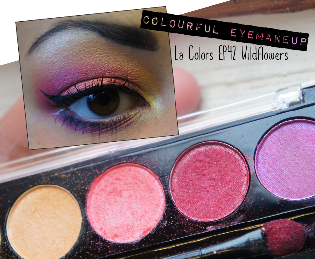 La Colors EP42 Wildflowers Palette EOTD