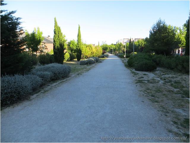 Parque lineal hasta el Miguel Rios