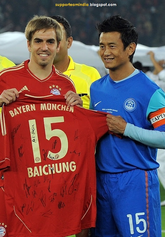 India vs Bayern Images