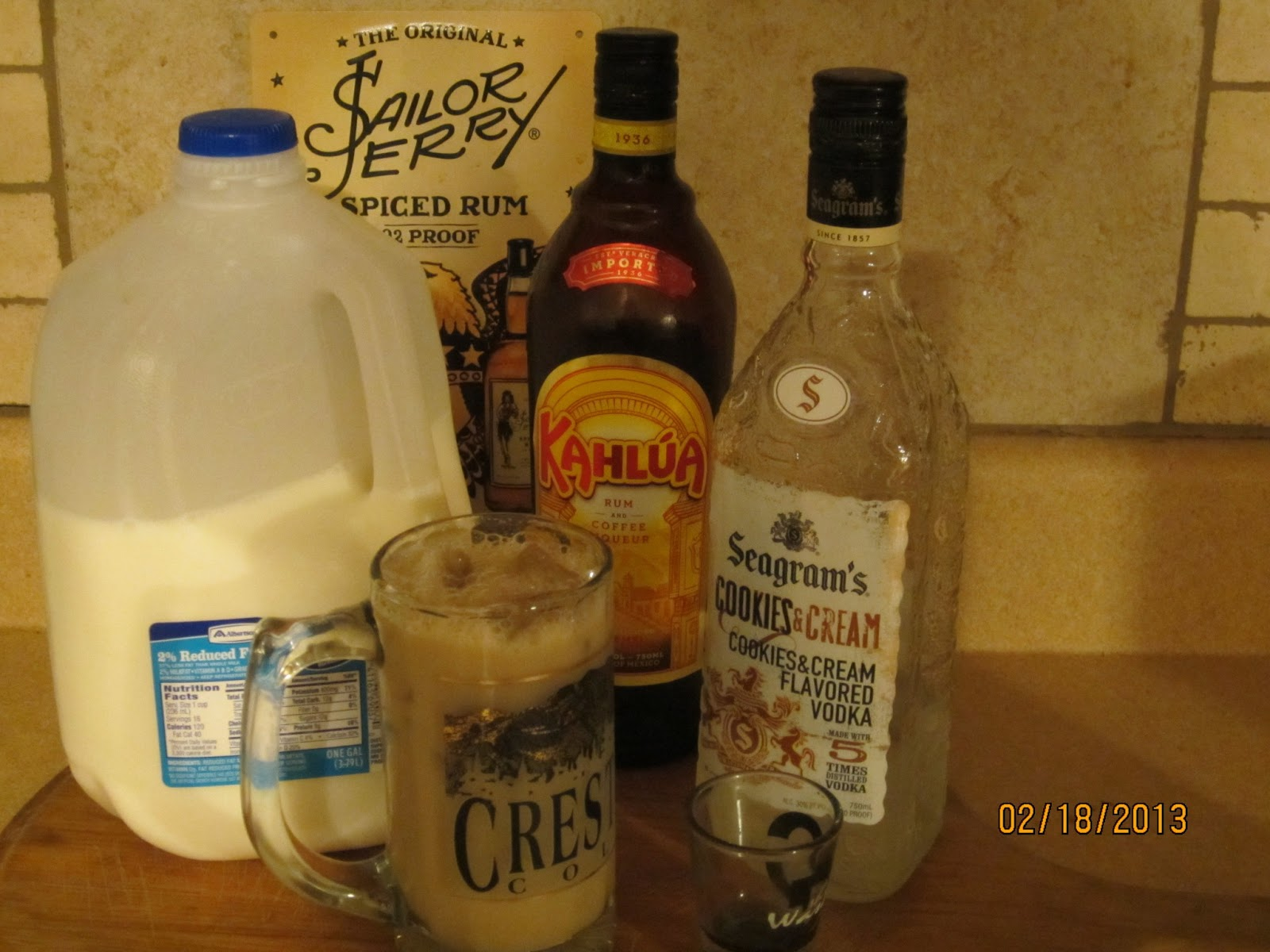 How To Mix An Adult Chocolate Milk- My Favorite Cocktail Drink ...