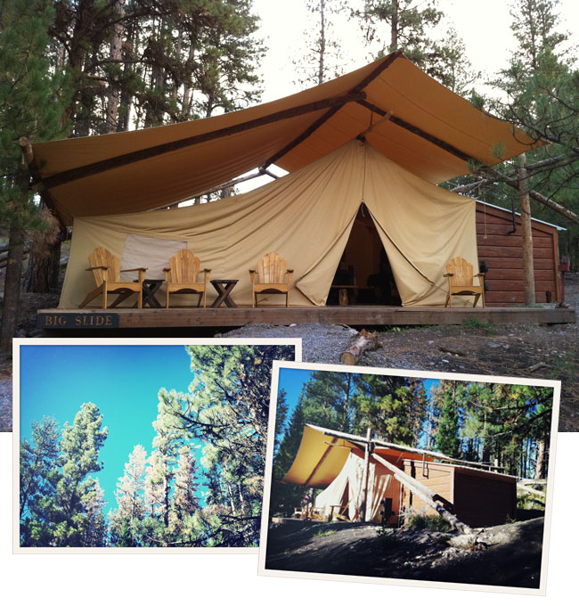 Glamping ideas pinterest party invitations ideas for Glamping ideas diy