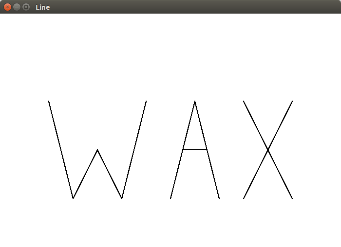 Bresenham Line Drawing Algorithm With Negative Slope : Labs computer graphics quot wax word