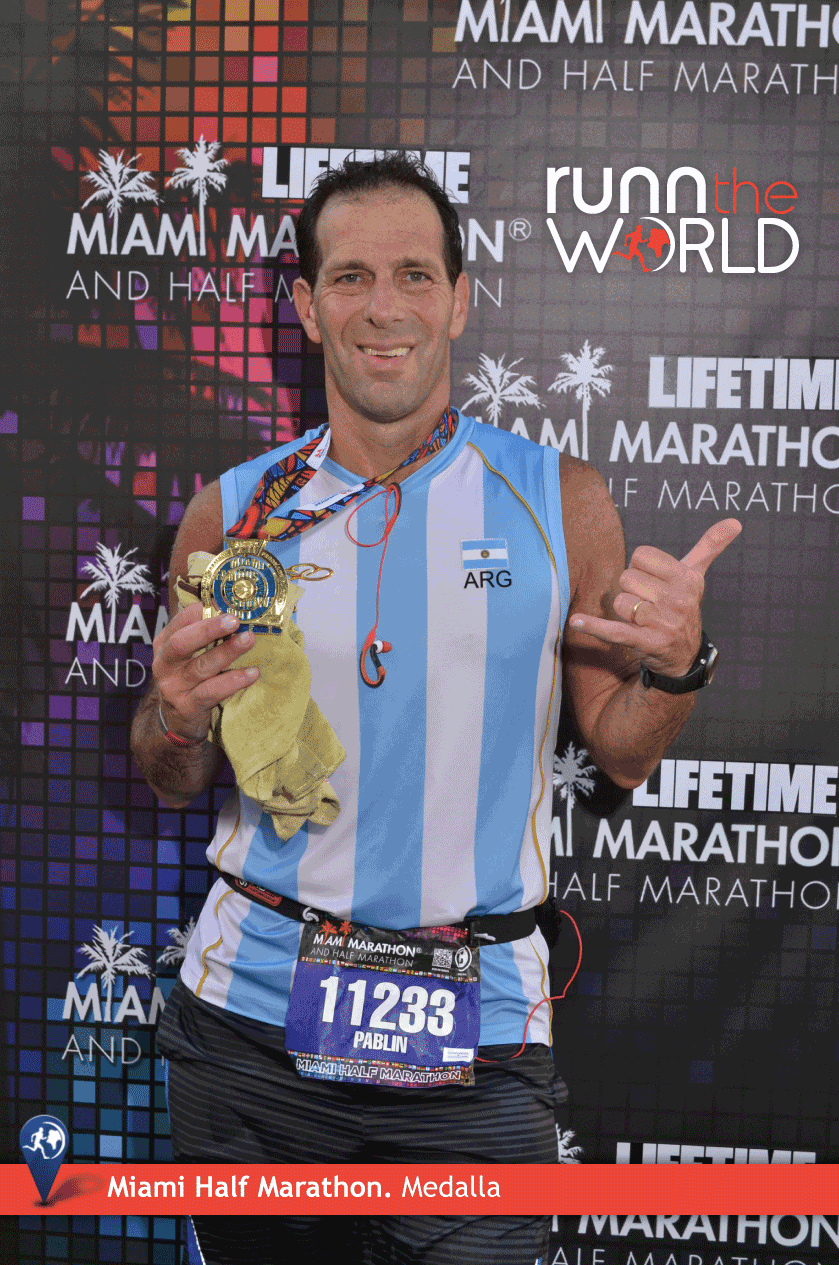 Miami Half Marathon 2014 Finisher