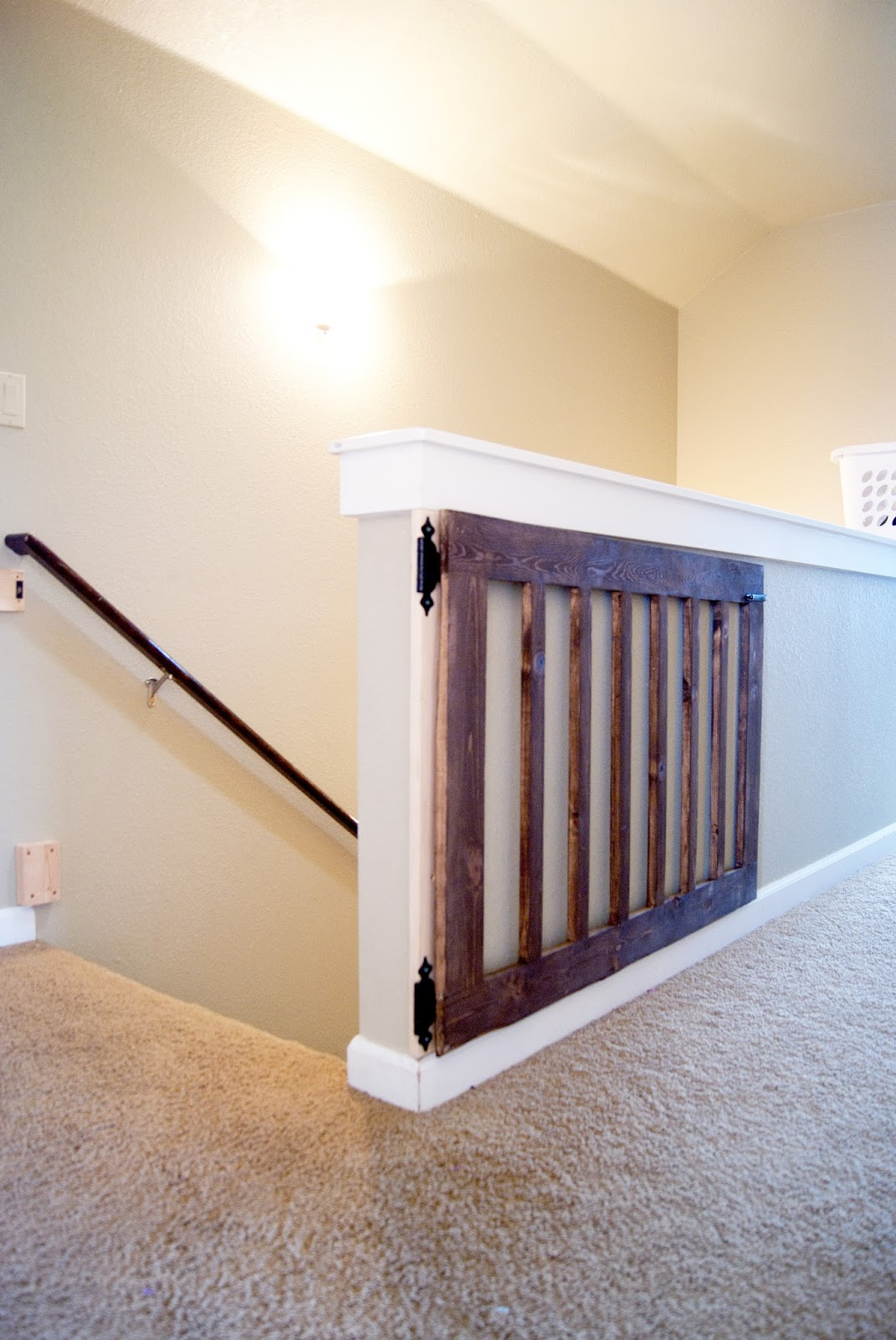 Custom Wood Baby Gate