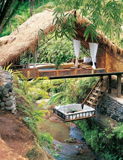 Resort, Spa, Tree house, Bali,