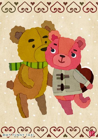 バレンタインデーのイラスト Valentine's day illustration