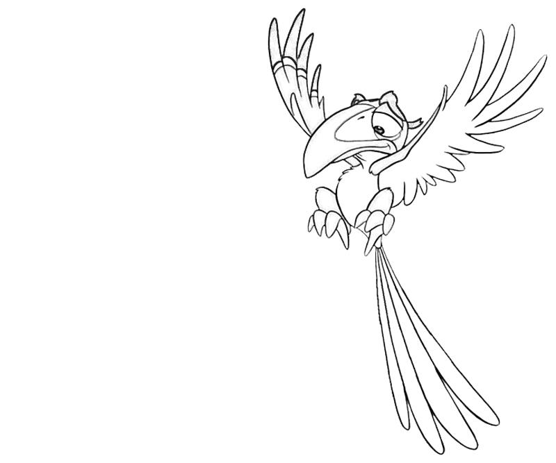 zazu-fly-coloring-pages