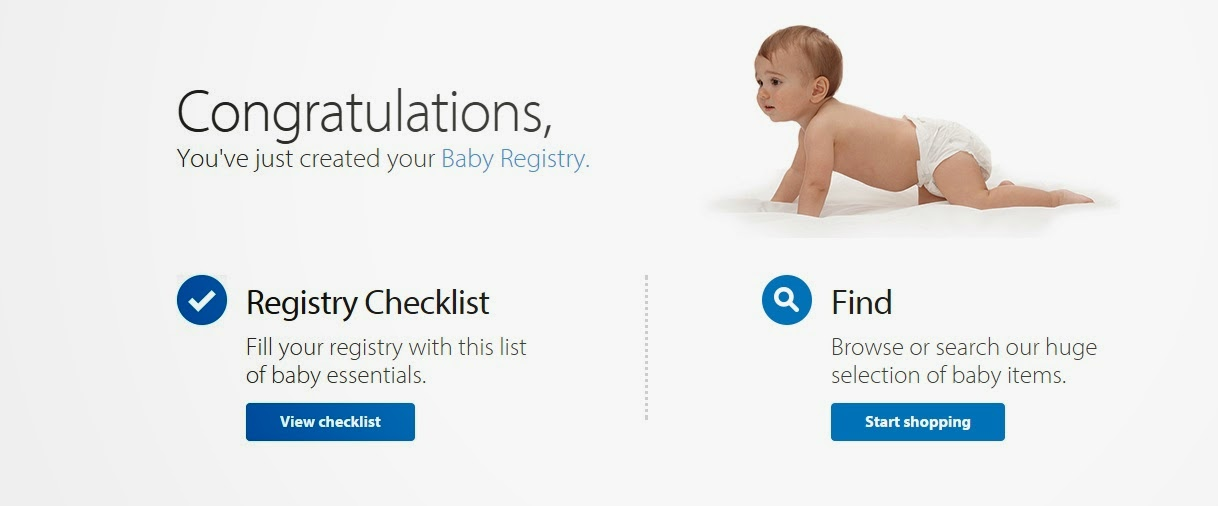 Make it Cozee: Be Prepared with a Walmart Baby Registry