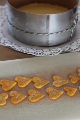 limun, lemon, kaki, persimmon, torta, cake, presno, raw