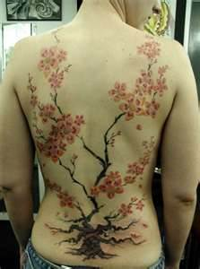 Cherry Blossom Tree Tattoos
