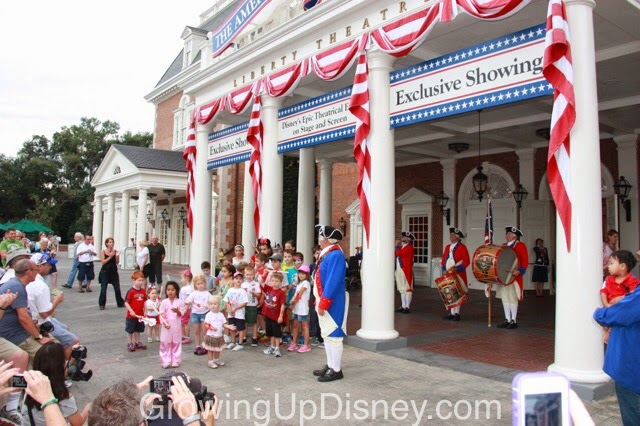 Spirit of America Fife & Drum Corps, Epcot