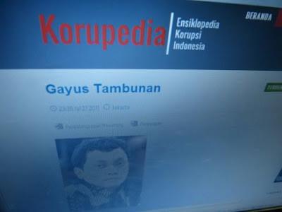 """http://bintancenter.blogspot.com -""""Korupedia.org"""" Situs Ensiklopedia Korupsi Indonesia"""