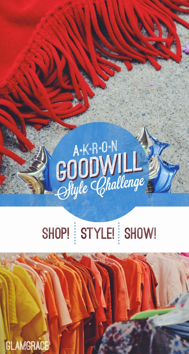 Goodwill Akron Blogger Style Challenge