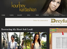 Featured on Kourtney kardashian's blog  7-12-2011