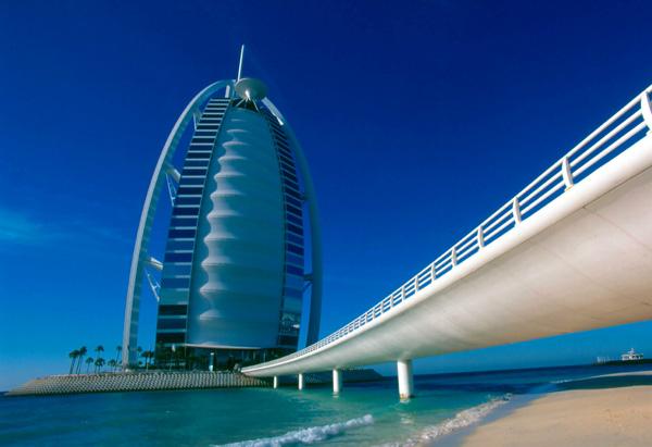 Burj Al Arab Structure In Dubai