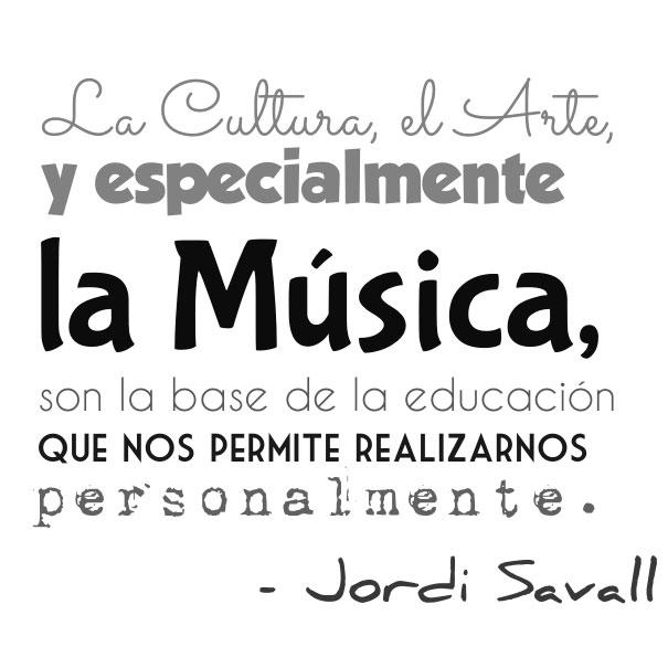 Cita de Jordi Savall - Jordi Savall Quote