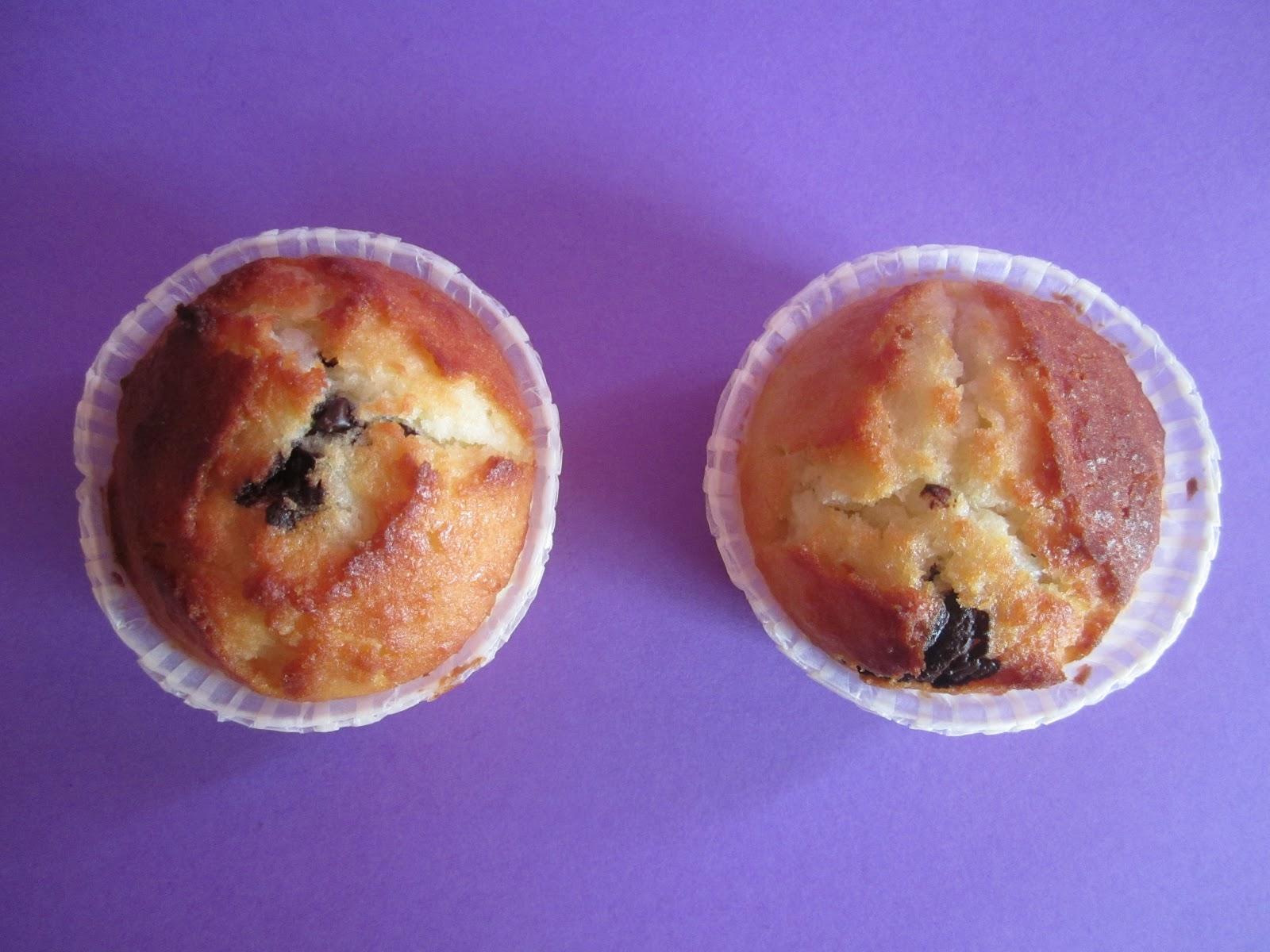 Recette Muffins à la noix de coco et pépites de chocolat